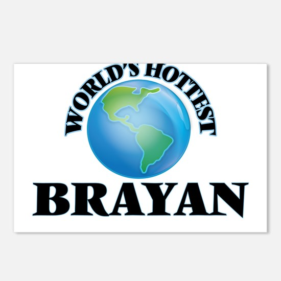World's Hottest Brayan Postcards (Package of 8)