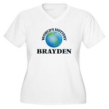 World's Hottest Brayden Plus Size T-Shirt