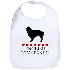 English Toy Spaniel (red star Bib