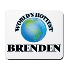 World's Hottest Brenden Mousepad
