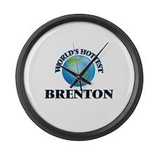 World's Hottest Brenton Large Wall Clock