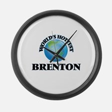 World's Hottest Brenton Large Wall Clock