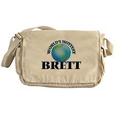 World's Hottest Brett Messenger Bag