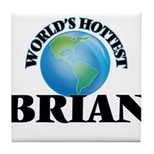 World's Hottest Brian Tile Coaster