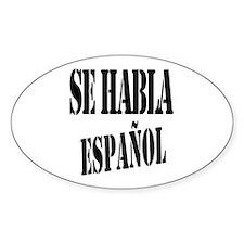Se habla espanol - Spanish speaking Decal