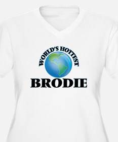 World's Hottest Brodie Plus Size T-Shirt