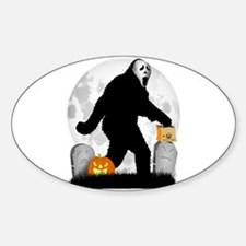 Gone Halloween Squatchin' Decal