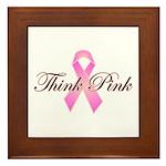 Think Pink Framed Tile