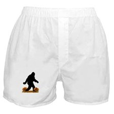 Gone Thanksgiving Squatchin' Boxer Shorts