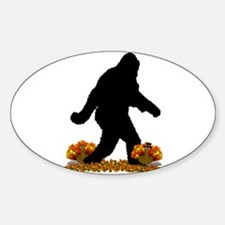 Gone Thanksgiving Squatchin' Decal