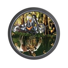 Native Reflections Wall Clock