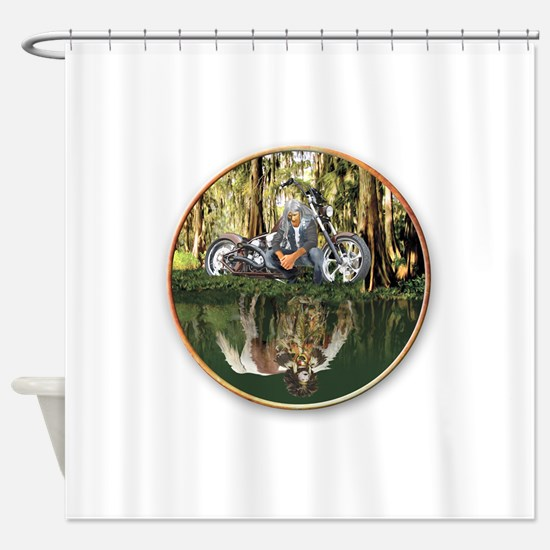 Native Reflections Shower Curtain