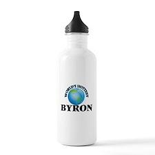 World's Hottest Byron Water Bottle