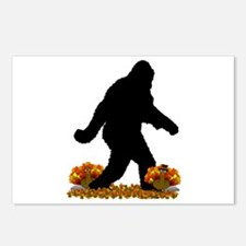 Gone Thanksgiving Squatch Postcards (Package of 8)