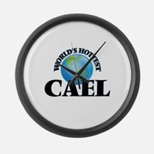 World's Hottest Cael Large Wall Clock