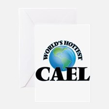 World's Hottest Cael Greeting Cards