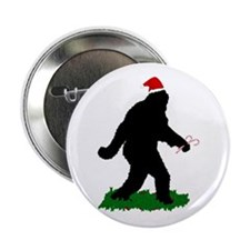 "Gone Christmas Squatchin' 2.25"" Button"