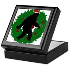 Gone Christmas Squatchin' Keepsake Box