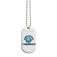 World's Hottest Carmelo Dog Tags