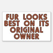 Fur looks best - Decal