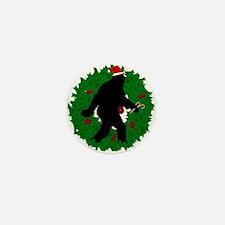 Gone Christmas Squatchin' Mini Button (10 pack)