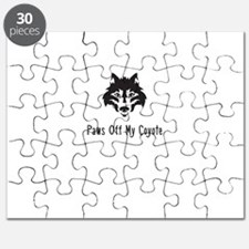 Paws Off My Coyote Puzzle