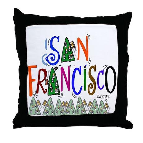 San Francisco Gift Throw Pillow