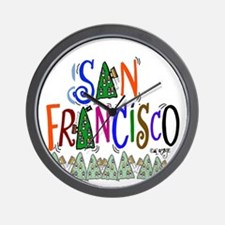 San Francisco Gift  Wall Clock