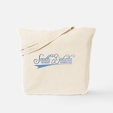 South Dakota State of Mine Tote Bag