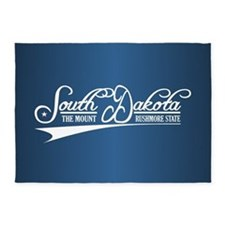 South Dakota State of Mine 5'x7'Area Rug