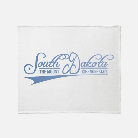 South Dakota State of Mine Throw Blanket