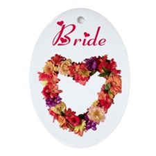 Bride Oval Ornament