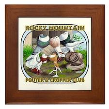 Rocky Mountain Club Framed Tile