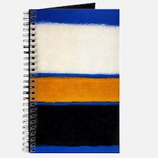 ROTHKO blue orange blank Journal