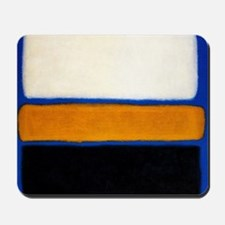ROTHKO blue orange blank Mousepad