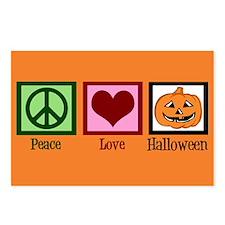 Halloween Orange Postcards (Package of 8)