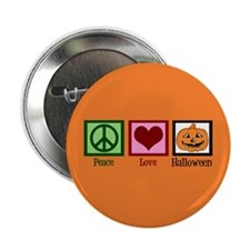"Halloween Orange 2.25"" Button"