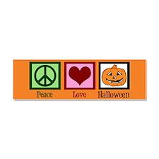 Halloween Orange Car Magnet 10 x 3
