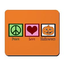 Halloween Orange Mousepad
