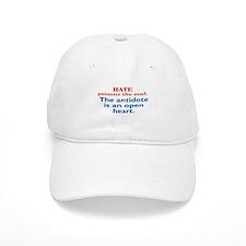 Hate Poisons Baseball Cap