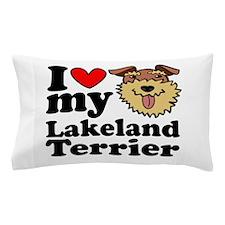 I Love My Lakeland Pillow Case