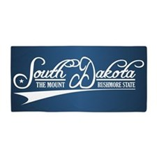 South Dakota State of Mine Beach Towel