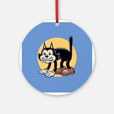 Archy Katt Ornament (Round)