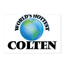 World's Hottest Colten Postcards (Package of 8)