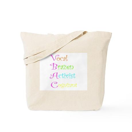 VBAC ABCs Pink Vocal Tote Bag