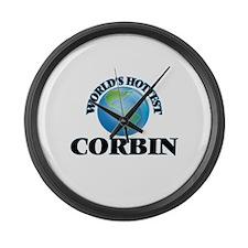 World's Hottest Corbin Large Wall Clock