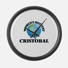 World's Hottest Cristobal Large Wall Clock