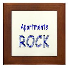 Apartments Rock Framed Tile