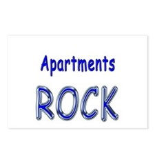 Apartments Rock Postcards (Package of 8)