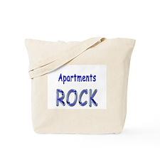 Apartments Rock Tote Bag